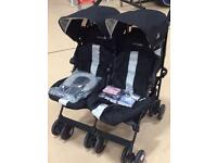 MacLaren Twin Techno Double Buggy - Excellent Condition