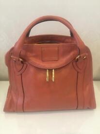 Marc Jacobs peach ladies handbag 100% genuine
