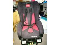 Recaro child seat young expert plus isofix