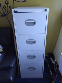 4 Drawer Lockable Filing Cabinet
