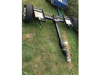 Car trailer dolly