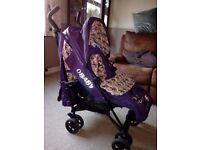 OBaby Zeal Cutie baby stroller