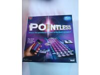 Pointless board game almost new as seen on TV
