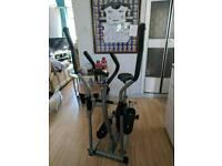 Pro Fitness 2 in 1 Exercise/Elliptical Bike