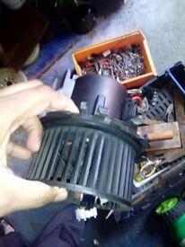 Van spare parts