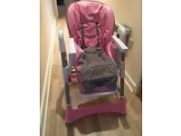 Baby pink chair