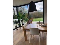 HABITAT extendable dining table 6-12 people