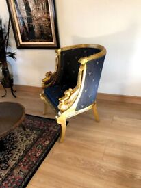 Two Amazing French armchairs