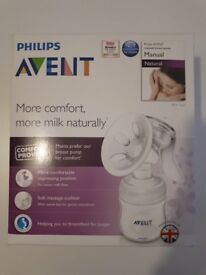 Brand New SEALED Philips Avent Manual Breast Pump