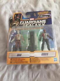 Gaurdians of the Galaxy Figures