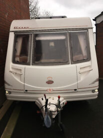 2001 Sterling Eccles Moonstone 4 birth caravan