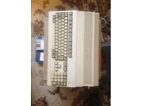 Amiga 500 with mouse and joystick and memory upgrade and Original box