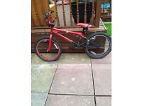 20IN RED JOKER BMX BIKE AS NEW
