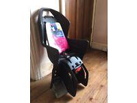 POLISPORT Koolah FF Frame Mount Rear Child Bike Seat Carrier (Dark Grey) - BRAND NEW (RRP £59.99)