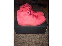 Nike Air Jordan 1 Retro High - 332550603 - Triple Red - UK 9