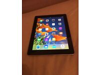 iPad 3 16gb WiFi + cellular. UNLOCKED.CASE AND CHARGER.Excellent condition.hardly used. CAN DELIVER