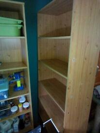 FREE bookshelves, IKEA computer desk and 3 drawer pedestal Morningside