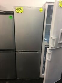BOSCH FROST FREE FRIDGE FREEZER IN SILIVER