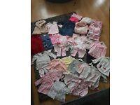 Large bundle of 6-9months clothes