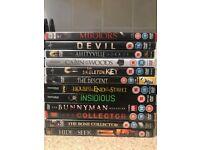 12 Horror DVD bundle