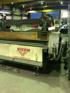 VICON ELITE Plasma Cutting Table System
