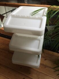 IKEA sortera recycling/storage boxes