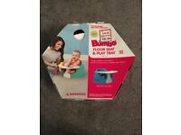 Baby bumbo floor seat and play tray, perfect for when baby starting to try and sit up, supportive