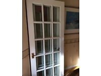 White Mahogany Door x3