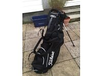 Titleist Black/White Stand Bag