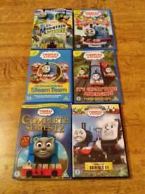 Thomas the tank engine 6 DVD'S