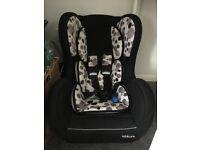 Kiddicare car seat birth to 4 years