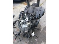 2015 Honda Pcx 125cc Engine Complete With Exhaust Throttle body Fuel Injector