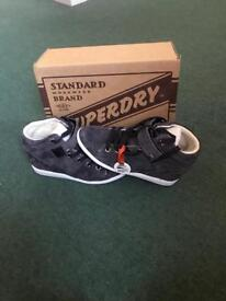 Brand new Superdry wedge high tops