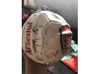 Signed arsenal football