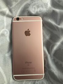 Rose gold iPhone6s 16gb