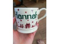 Emma Bridgewater small Hannah handpainted mug