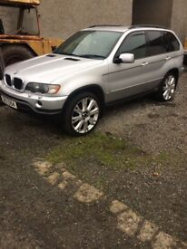 BMW X5 JEEP FOR SALE - FULL LEATHER, ALLOY WHEELS, DIESEL
