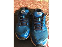 Blue Nike Trainers, Size 6