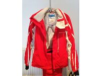 Ski Jacket and Trousers Size 8-10 water&windproof breathable