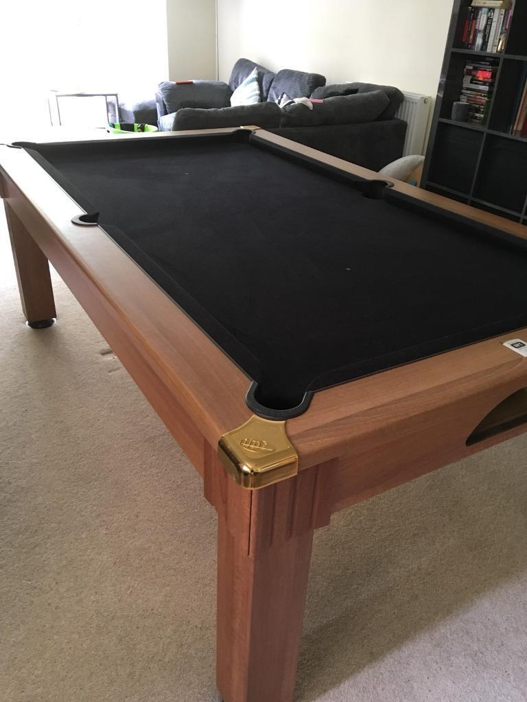Pool Dining Table Slate Base Xft In Cambridge Cambridgeshire - Pool table base