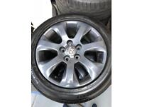 VAUXHALL INSIGNIA ALLOYS AND TYRES