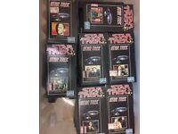 Star Trek Original Series VHS videos