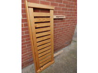 For Sale, Wooden Double Headboard for Bed Unused £40, Exmouth Devon