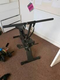 Bike/rowing machine