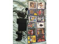 Slim PlayStation 2, 1 controller and 12 games