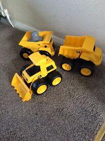 Cat toy trucks