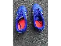 Boys football turf shoes size 13
