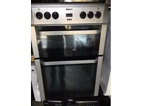 GREY BEKO FREE STANDING 60cm ELECTRIC COOKER