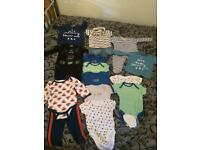 Boy 3-6 month clothes Bundle. Smoke&pet free home.
