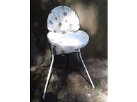 Mothercare High Chair - DELIVERY AVAILABLE